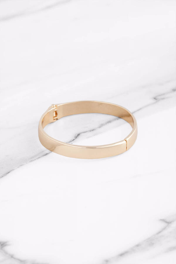 striiike bangle circles products fill bracelet thin bangles iconery gold with