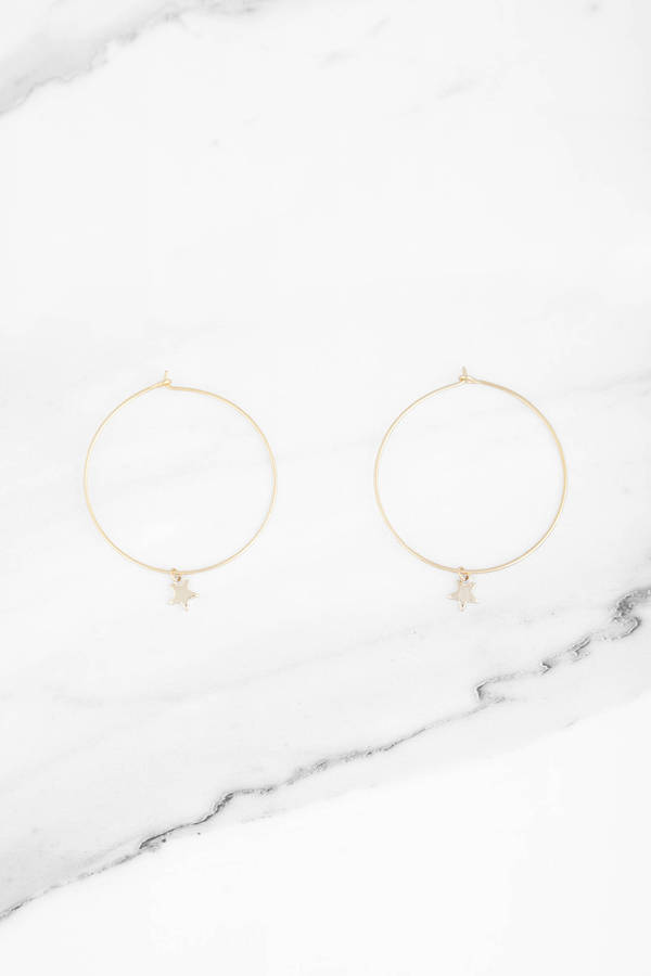 oh my gold hoop earring set 9 tobi us