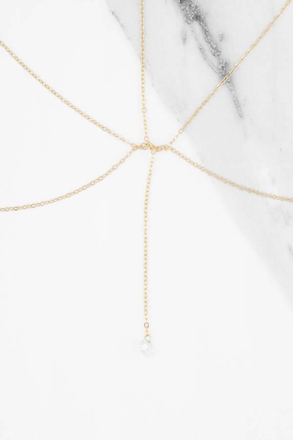 Tobi Body Jewelry Gold On The Horizon Chain