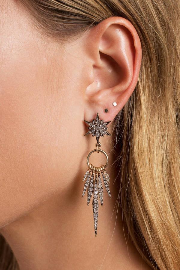 Women\'s Earrings   Gold Dangle Earrings, Cheap Bar Earrings   Tobi