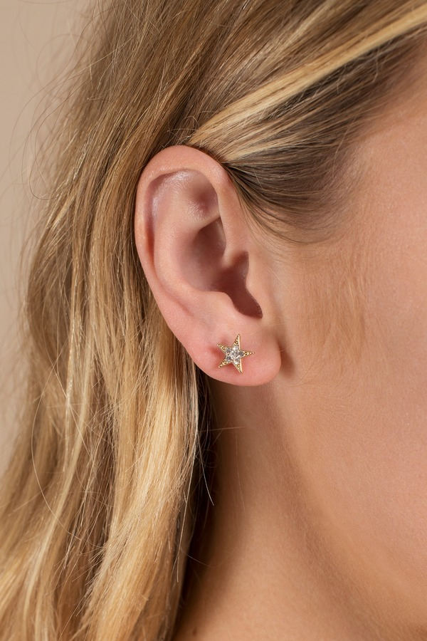 Starlie Gold Stud Earring Set - $7 | Tobi US