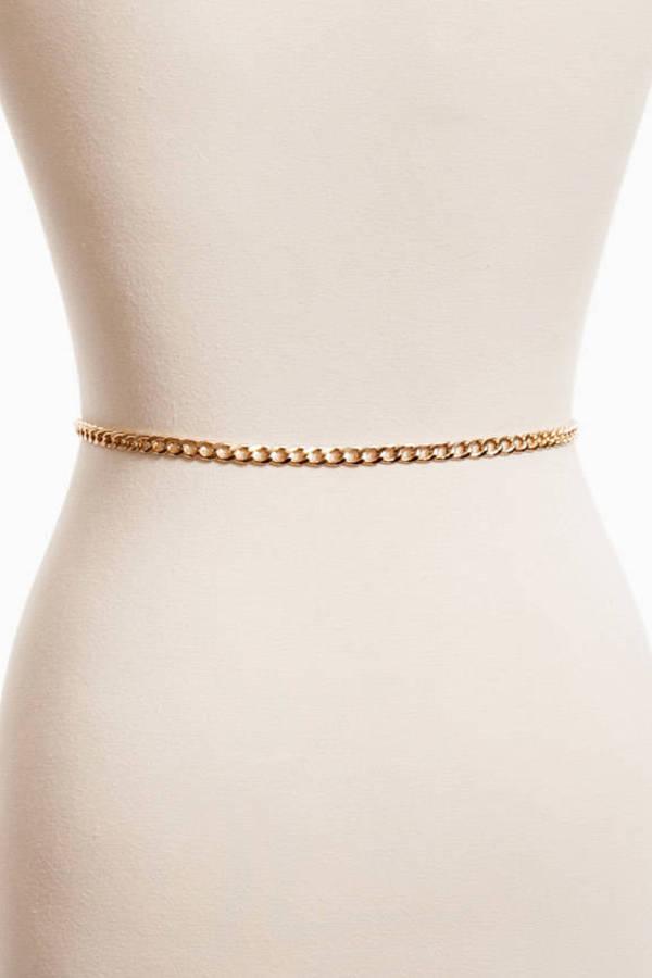 Thin Chain Link Belt