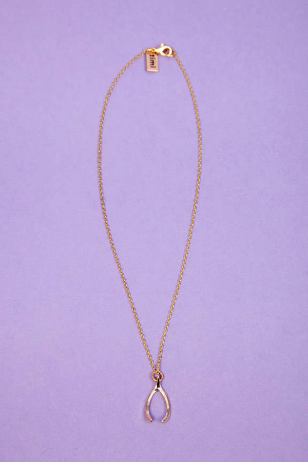 timi Wishbone Necklace