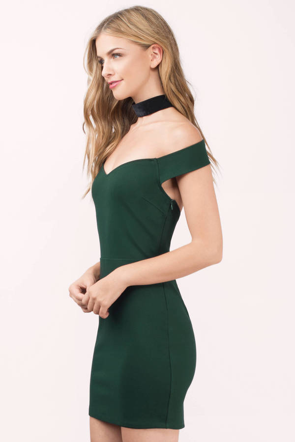 d7623b526c55 Green Dress - Sweetheart Dress - Royal Green Dress - Green Bodycon ...