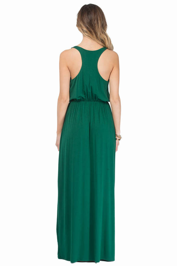Driving Racerback Maxi Dress