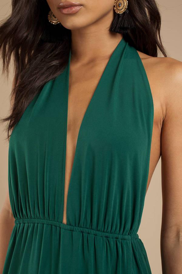 73409769c Grey Maxi Dress - Open Shoulder Maxi Dress - Grey Halter Dress - C ...