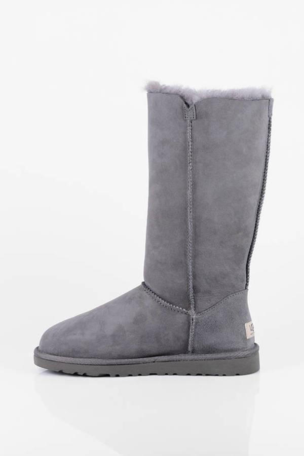 1169c760bbe Bailey Button Triplet Tall Sheepskin Boots