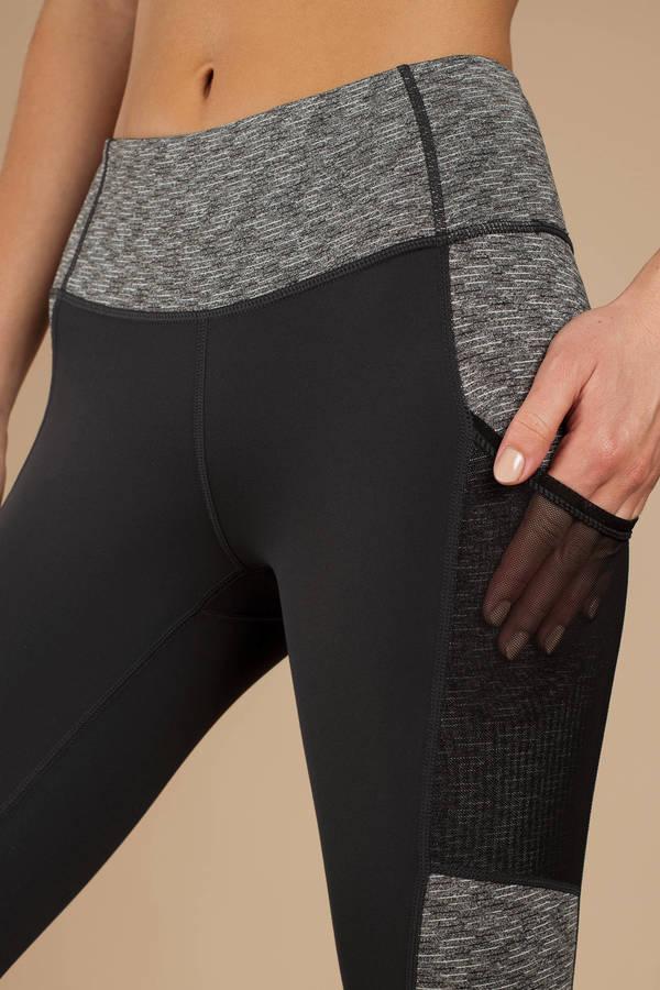 98c754ad77129 ... Tobi Mesh Clothing, Grey, Kelsie Colorblock Mesh Pocket Leggings, Tobi