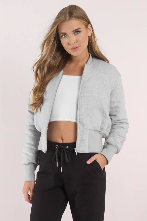 Finders Keepers Coco Short Bomber Jacket - $165 | Tobi US