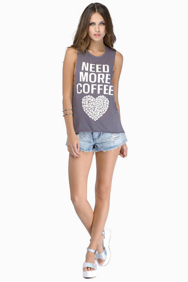 Need More Coffee Top