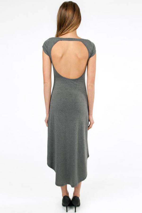 Scoop and Loop Back Dress