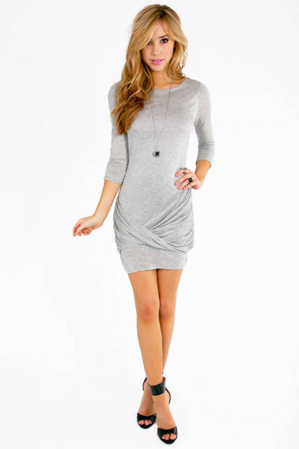 Twist & Wrap Dress