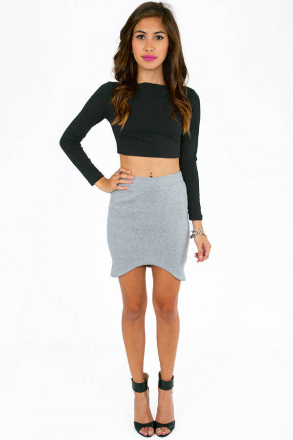 Curvy Bottom Skirt