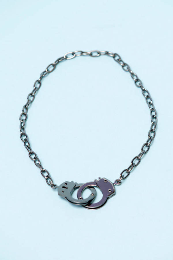 Hand Cuff Necklace