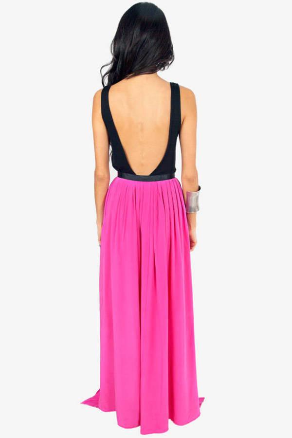 Gypsy Junkies Oceana High-Slit Maxi Skirt