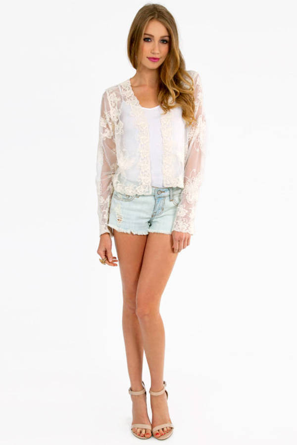 Butterfly Lace Cardigan