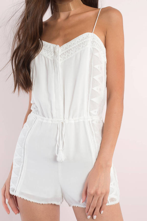 ef547fa2d6a ... The Jetset Diaries The Jetset Diaries Cirrus Ivory Embroidered Trim  Cami Romper ...
