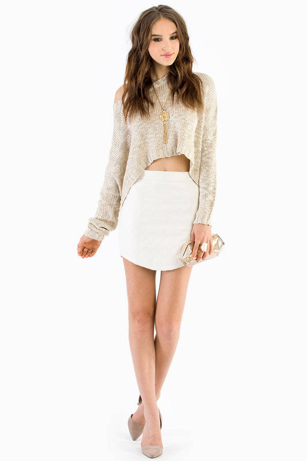 Critically Quilted Mini Skirt