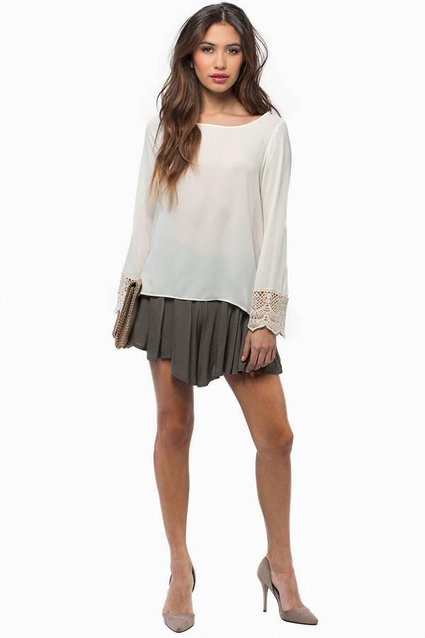 Elysia Long Sleeve Blouse