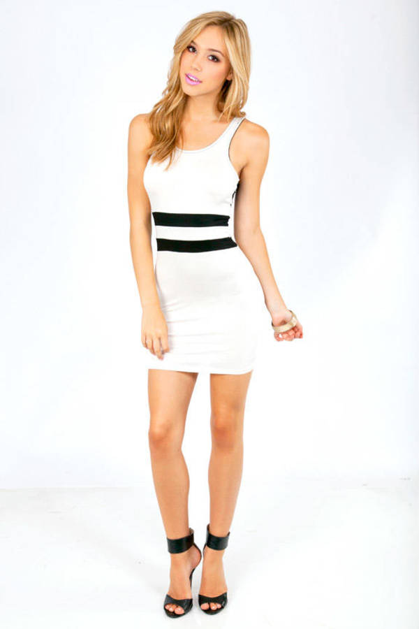 End of the Lines Tank Dress