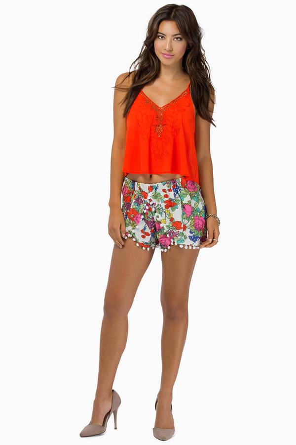 Bloomin' Ivy Shorts