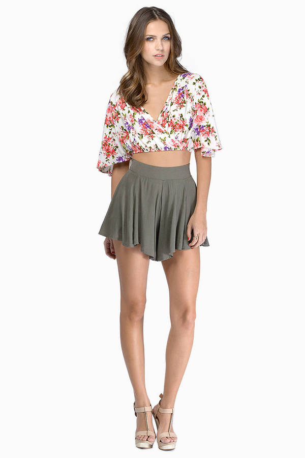 Botanic Floral Crop Top