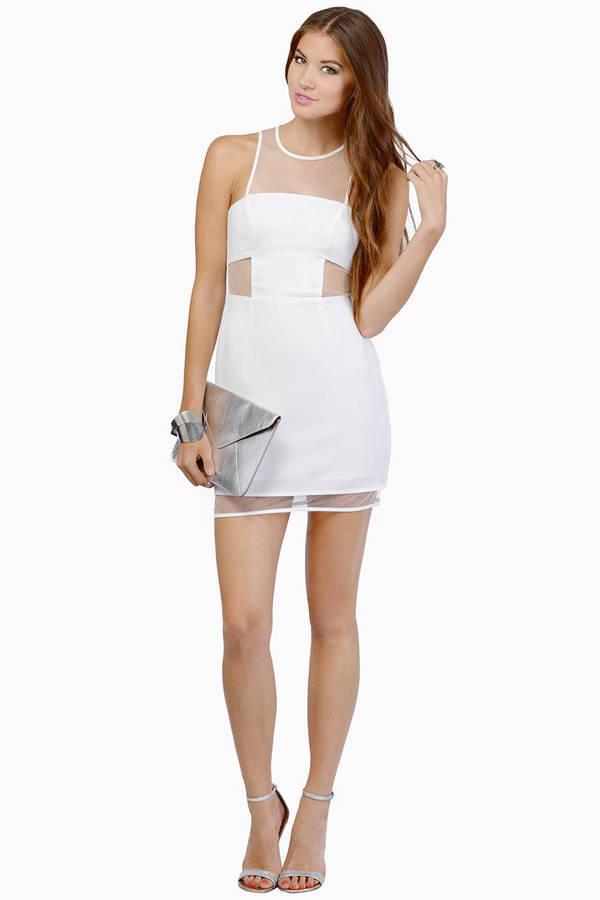 Gridlocked Dress