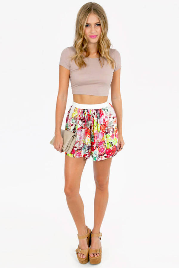 May Flowers Shorts