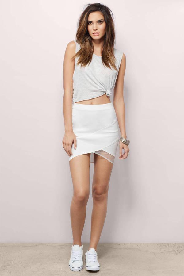 Mesh Mini Skirt 56