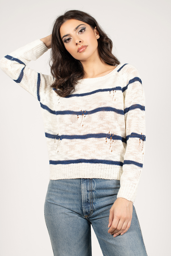 College Ruled Sweater