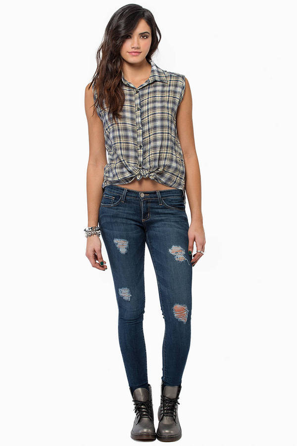 Cross Minded Top