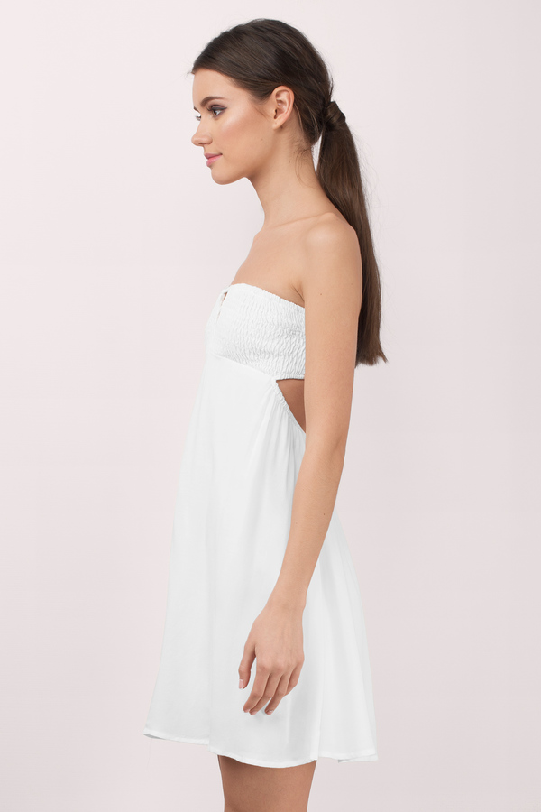 Sunny Ss Ivory Day Dress