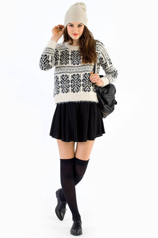 Turning Up Sweater