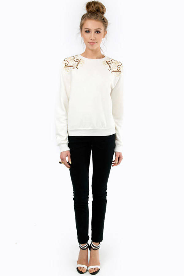 Urban Sophia Embellished Sweater