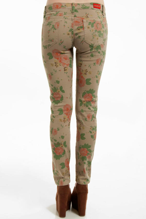 Versailles Floral Jeans
