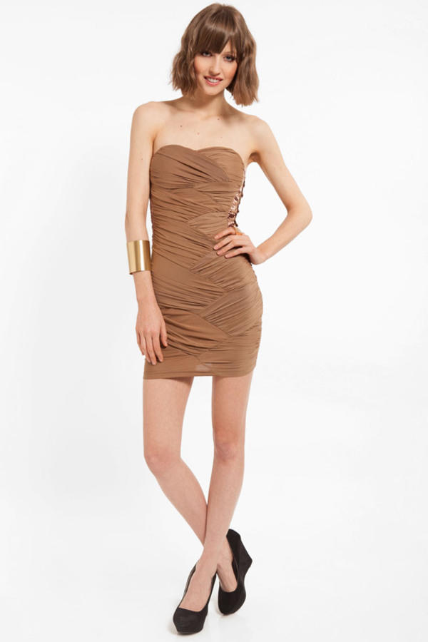 Molly Strapless Dress