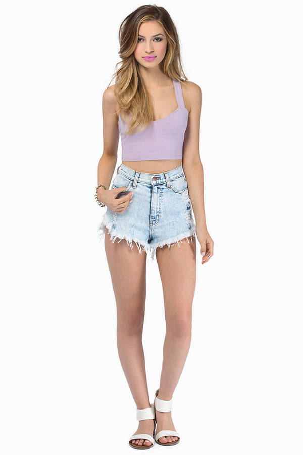 All The Right Steps Crop Top