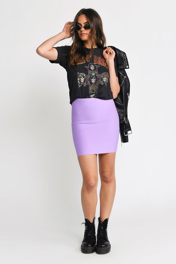 f4f1a98d12 ... Tobi Skirts, Lavender, Back With A Vengeance Bandage Skirt, Tobi