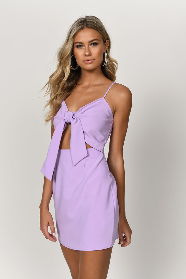 Lavender Pink Dress