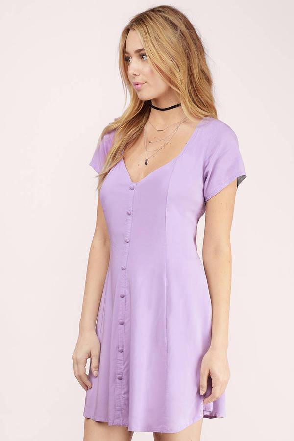 4311d2794606c1 Trendy Mint Skater Dress - Button Down Dress - Cut Out Dress - $12 ...