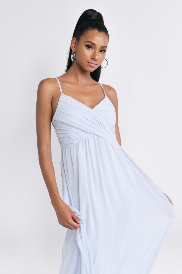 0b22cea238 ... Tobi Light Blue Dresses, Light Blue, All About Tonight Maxi Dress, Tobi