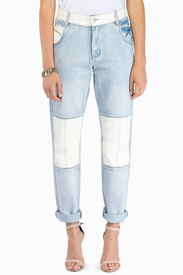 MINKPINK White Trash Superstar Jeans