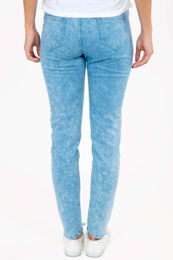 Wish Wash Denim Jeggings