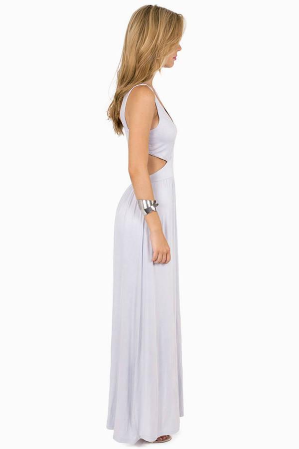 Esther Side Slit Maxi Dress