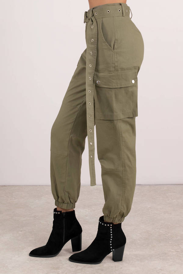 great deals outlet online authentic quality Private Kelly Belted Cargo Pants