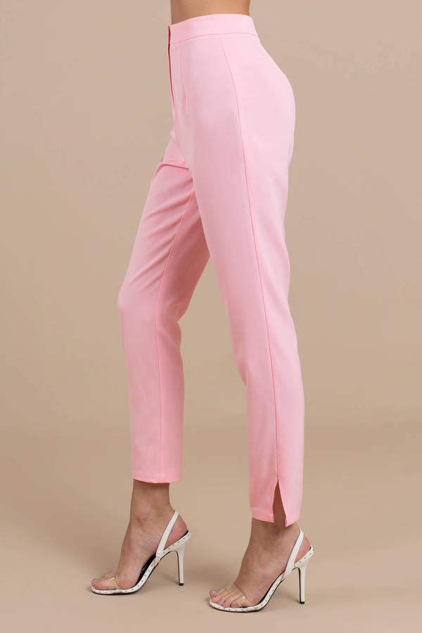 half off 95371 77939 Risky Business Light Pink Tailored Pants Risky Business Light Pink Tailored  Pants ...