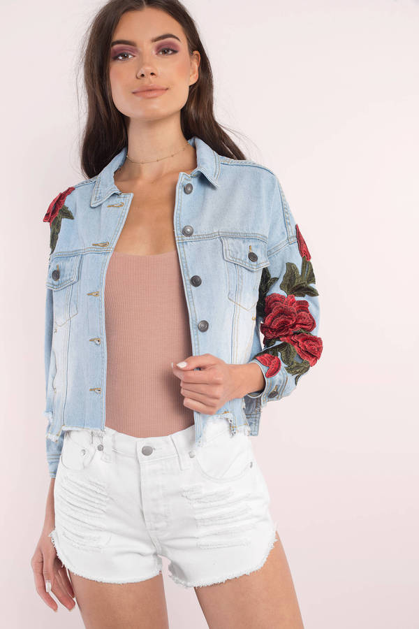 Find light denim jean jacket at ShopStyle. Shop the latest collection of light denim jean jacket from the most popular stores - all in one place.