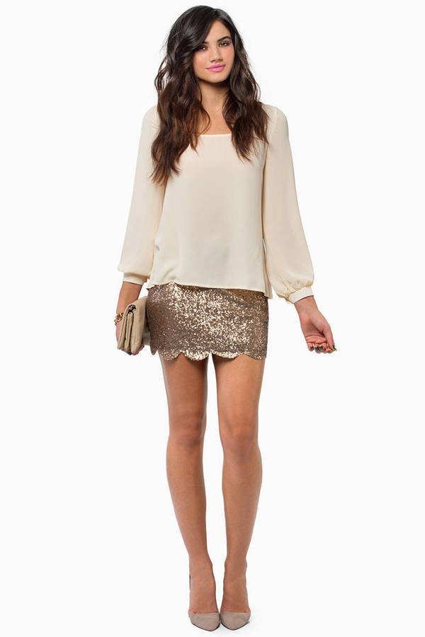 Dancing Queen Sequin Skirt