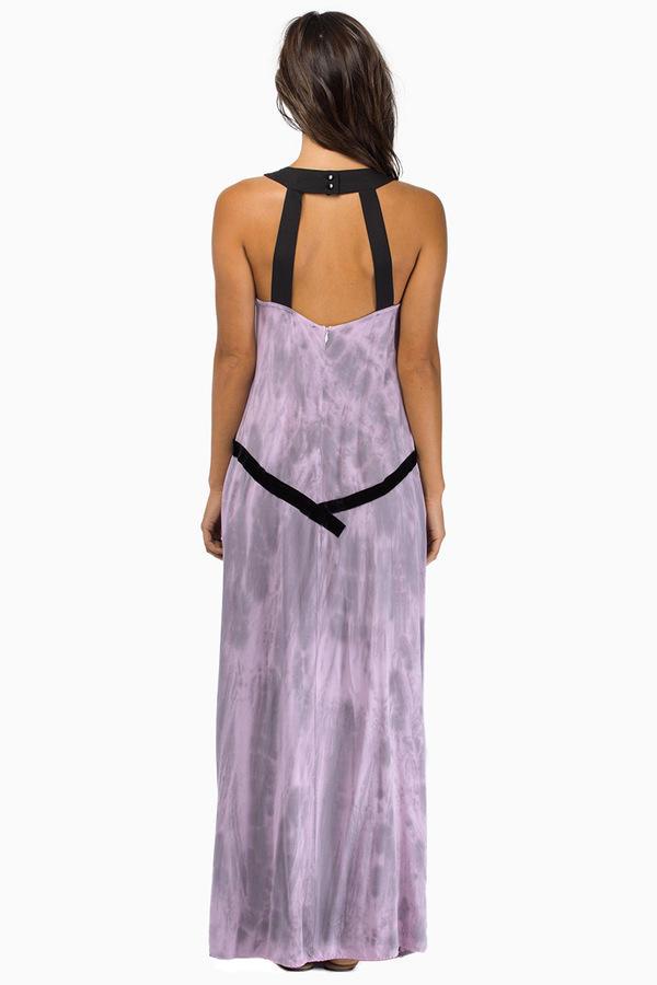 Sin Clarity Katie Maxi Slit Dress