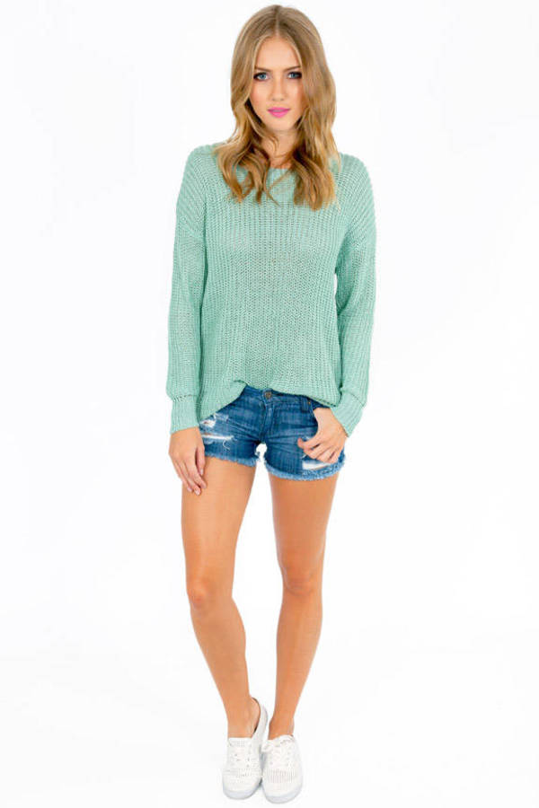 Basic Ally Round Neck Sweater